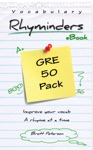 GRE Vocabulary Word Rhyminders 50 Rhyme Pack