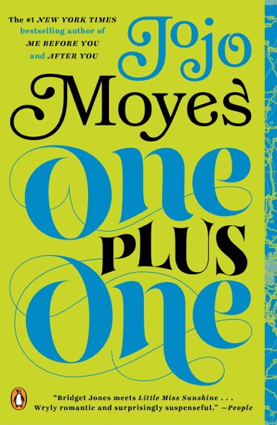 One Plus One - Jojo Moyes book cover