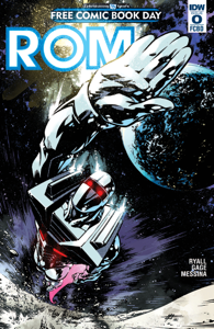 ROM: Free Comic Book Day Special Book Review