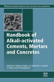 本のHandbook of Alkali-Activated Cements, Mortars and Concretesの表紙