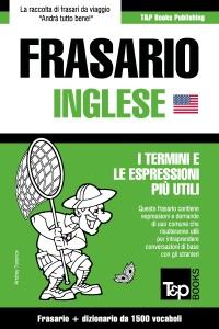 Frasario Italiano-Inglese e dizionario ridotto da 1500 vocaboli Book Cover