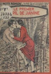 Download and Read Online Le premier avril de Janine