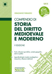 Compendio di Storia del Diritto Medievale e Moderno Copertina del libro