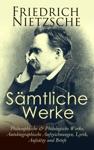 Smtliche Werke Philosophische  Philologische Werke Autobiographische Aufzeichnungen Lyrik Aufstze Und Briefe
