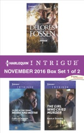 Harlequin Intrigue November 2016 Box Set 1 Of 2