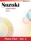 Suzuki Piano School - Volume 5 New International Edition