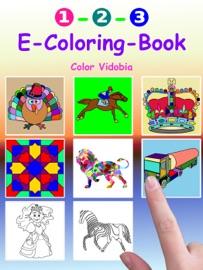 1 2 3 E Coloring Book