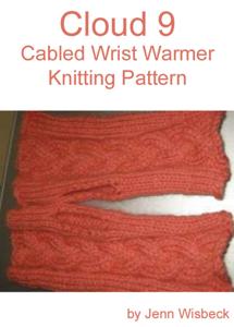 Cloud 9 Wrist Warmer Knitting Pattern Book Review