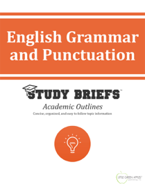 English Grammar and Punctuation