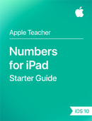 Numbers for iPad Starter Guide iOS 10