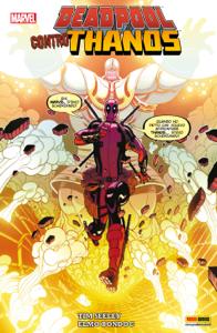 Deadpool Contro Thanos Copertina del libro
