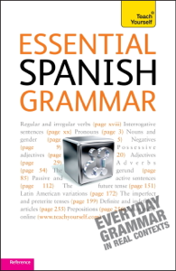 Essential Spanish Grammar: Teach Yourself Cover Book
