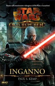 Star Wars The Old Republic Inganno Book Cover