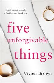Five Unforgivable Things book
