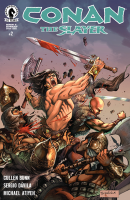 Conan the Slayer #2 - Cullen Bunn, Sergio Davila & Michael Atiyeh book
