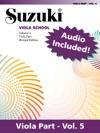 Suzuki Viola School - Volume 5 Revised