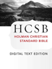 Holman Bible Publishers - The Holy Bible: HCSB Digital Text Edition  artwork