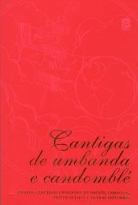 Cantigas de umbanda e candomblé Book Cover