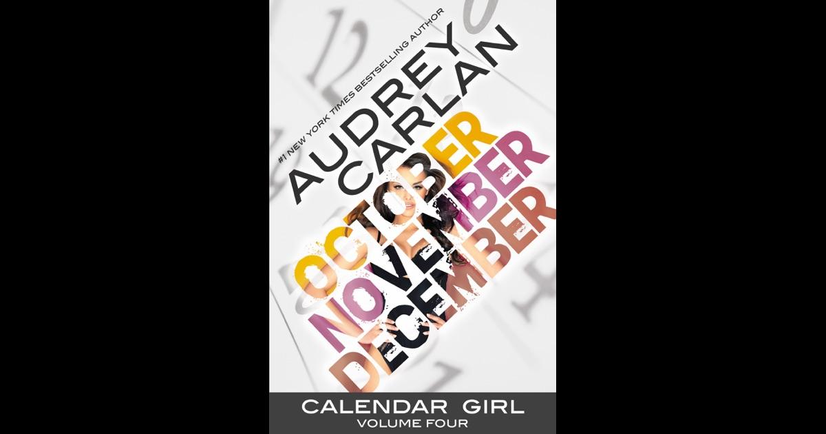 May Calendar Girl Book : Calendar girl volume four by audrey carlan on ibooks