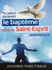 Tu Peux Recevoir Le Baptême Dans Le Saint-Esprit Maintenant