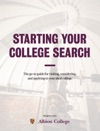 Starting Your College Search