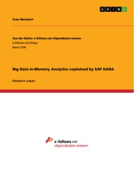 Big Data In Memory Analytics Explained By Sap Hana