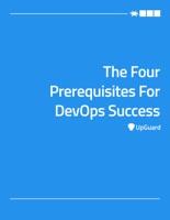 Four Prerequisites For DevOps Success