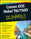 Canon EOS Rebel T6i  750D For Dummies