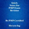 Quick Notes For PMP Exam Revision