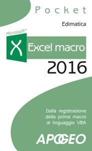 Excel macro 2016 Copertina del libro