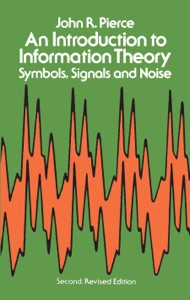 An Introduction to Information Theory Book Cover