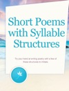 Short Poems With Syllable Structures