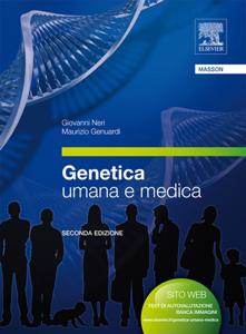 Genetica umana e medica Libro Cover