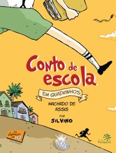 Conto de escola em quadrinhos Book Cover
