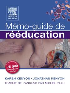 Mémo-guide de rééducation La couverture du livre martien
