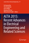 AETA 2015 Recent Advances In Electrical Engineering And Related Sciences
