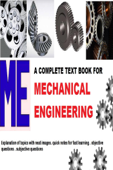 Complete Text Book For Mechanical Engineering