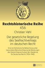 Die Gesetzliche Regelung Des Seefrachtvertrags Im Deutschen Recht
