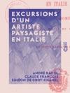 Excursions Dun Artiste Paysagiste En Italie