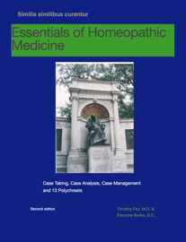 Essentials of Homeopathic Medicine