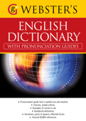 Webster's American English Dictionary (with pronunciation guides)