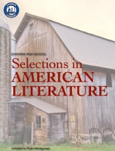 Selections In AMERICAN LITERATURE