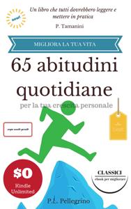 65 abitudini quotidiane per la tua crescita personale Copertina del libro