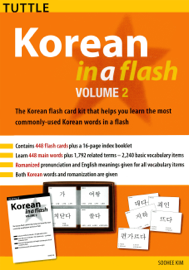 Korean in a Flash Kit Ebook Volume 2