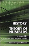 History Of The Theory Of Numbers Volume III