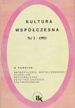 Kultura Współczesna 1/1993