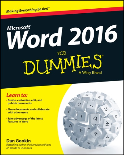 Word 2016 for Dummies E-Book Download