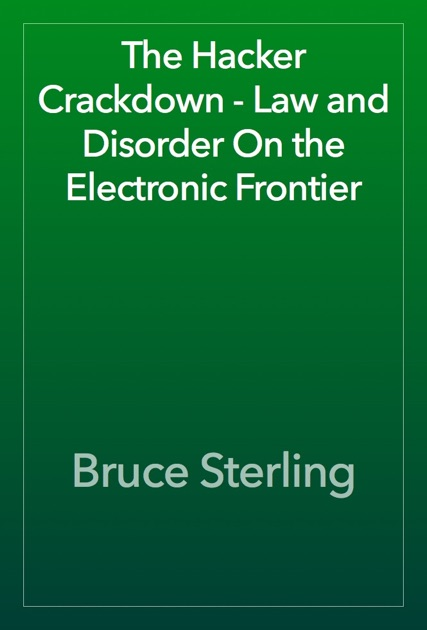 Bruce Sterling On Apple Books