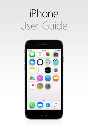 iPhone User Guide for iOS 8.4 image