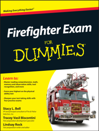 Firefighter Exam For Dummies book